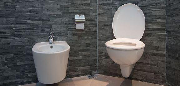 Ремонт туалета – преимущества использования виниловой плитки